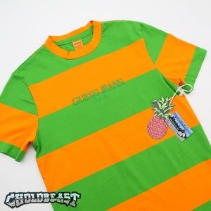 GUESS FARMERS MARKET ColorBlock STRIPE VTG OG Tee